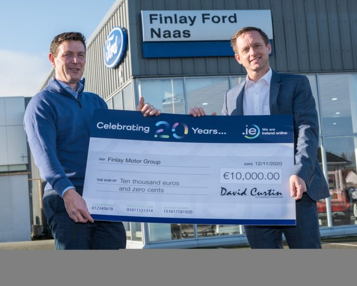 Hosting Ireland customer wins IEDR €5,000 prize
